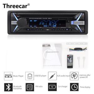 Dashboard 4*60W Car DVD Radio Bluetooth FM CD Receiver VCD MP3 MP4 SD USB Single Din Car Multimedia Player Remote Control