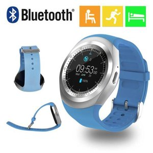 Waterproof Y1 Smart Watch Bluetooth Watch Pedometer Sim Sport Fitness For Android Ios Bluetooth Smart Watch