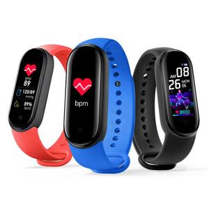 Lembrete novo M5 inteligente Banda Bluetooth Esporte Academia Rastreador pedômetro M5 Inteligente Relógios Homens Heart Rate Monitor Chamada Pulseira inteligente