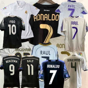 2002 2004 2005 Real Madrid retro jerseys 02 04 05 camiseta de fútbol 2011 2012 2013 2014 ZIDANE BECKHAM RONALDO camisa 11 12 13 14 Camisetas