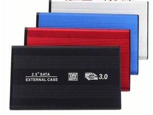 2 .5 İnç Usb 3 0,0 HDD Kutusu Sabit Disk Disk Sata Harici Depolama Muhafaza Kutusu ile Kutu