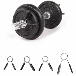 1 Piece 24 25 28 Weight Lifting Bar Gym Dumbbell Fitness Body Building Spinlock Collars Barbell Collar Lock Dumbell Clips Clamp RAxj#
