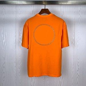 Moda Uomo T Shirt 2020 Camicie maniche corte celebre strada della qualità luminosa Distintivo Polo 20ss Uomini Donne Coppie Hip Hop Stylist Tee