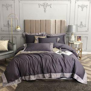 2020 new 60 long-staple cotton tribute satin four-piece set of 100% cotton bedding Bed sheet
