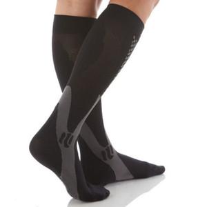 ROPALIA Erkekler Kadınlar Bacak Destek Stretch Sıkıştırma Çorap Diz Çorap Aşağıda