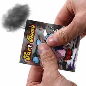 Divertente Fart Bomb Borse Stink Bomb Smelly divertente Bavaglio Candid Fool Toy pesce d'aprile Giorno Tricky Giocattoli IYLq #