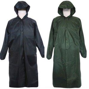 1CfJJ vêtements de corps long manteau imperméable vêtements poncho unité imprimable imper salopette Body