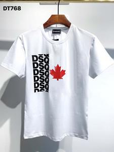 DSQ Phantom Tortue 2020ss New Mens Designer T-shirt Italie T-shirts Été Hommes DSQ T-shirt Homme Top Qualité 100% coton Top 5864
