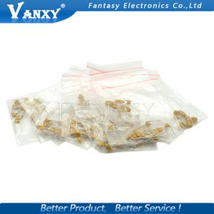 Componentes Pasivos 18valuesX10pcs = 180pcs 20pF-105 (1UF) Mono monolíticos de cerámica Condensadores 50V paquete diy componente nuevos condensadores originales