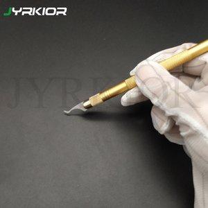 Jyrkior Handy-CPU BGA spanabhebende Graver für BGA entfernen Messerklinge entfernen Kleber Klingen Crescent