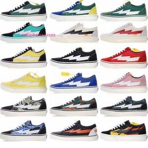 Revenge New X tempestade Old Skool Skateboarding Sneakers Trending Trainers casual para homens Mulheres duráveis lona sapatos de desporto ao ar livre