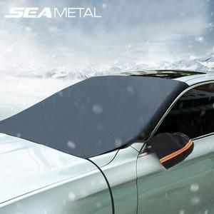 Car la neige Couvre fenêtre avant Auto Universal Shield pare-soleil Anti neige glace couverture pour l'hiver Protector Auto Sun Accessoires Shade