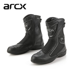 ARCX Unisex Waterproof Motocross Motorcycle Boots Leather Moto Shoes Motor Bike Scooter Motorbike Boots Leisure Shoes