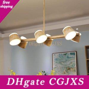 Moderne Dinning Room Drehbare Kronleuchter Nordic LED-Kronleuchter Beleuchtungskörper Nordic Wohnzimmer-hängende Lampe / Suspension