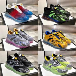 Ultrapace R scarpa da tennis pattini del progettista delle donne degli uomini di ginnastica riflettenti maglia scarpe Sneakers papà di due toni leggeri della scarpa da tennis con la scatola di esecuzione