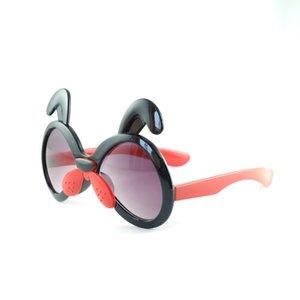 جديد وصول lovely الجملة النظارات الشمسية لطيف الألوان أطفال الكلب الحلوى نظارات الشمس uv400 5 نظارات الشمس الكلب الألوان شكل cctmx