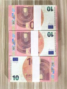 Euro Heiße Verkäufe Gefälschte Geld Filme Spezielle Prop Geld 10 Popular Toy Geld Festliche Party-Games Collection Geschenke W10 03