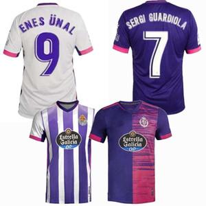 2020 2021 Real Valladolid футбол для футболки 20 21 Оскар Plano Javi Moyano Sergi Guardiola Home Away Alet Football Men и детская рубашка
