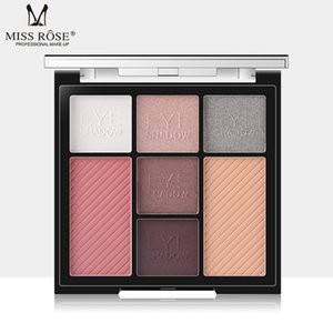 Miss Rose Cosmetics Matte Eye Shadow 7 Colors Blush Bronzer Face Contour Palette