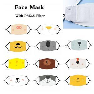 Multi-Стиль Рот маски маски для лица Анима мультфильма для взрослых и детей против пыли маски Рта-Муфельного моющегося Unisex многоразовых Cute Дизайнерских масок