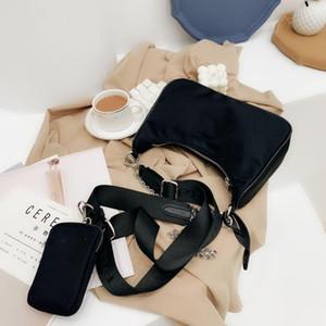2020 marca bolsa de bolsa de mensajero de la manera señoras del bolso del hombro del diseñador de la venta caliente hoy clásica de nylon del bolso monedero de moda