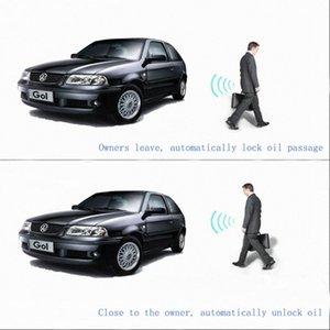 Construit en système de verrouillage sans clé d'entrée à distance Starlionr Système d'alarme de voiture Elechic caché voiture Control Engine Start / Stop Butto fm3B #