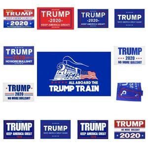ações dos EUA Bandeira Trump Hanging 90 * 150 centímetros Trump Mantenha Imprimir América Grande Banners 3x5ft Digital Donald Trump 2020 Flag 20 cores Decor bandeira