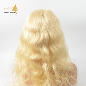 Factory price #613 full lace wig Brazilian hair, overnight delivery human hair wigs blonde Best Glueless