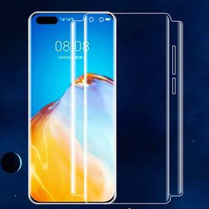 20D Plein écran Film de protection avant souple Hydrogel TPU protection pour Huawei P40 Pro Honor 30 Cell Phone (pas de verre)