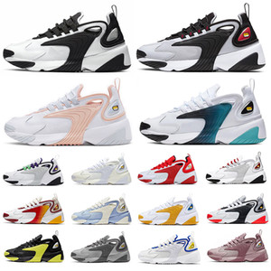Hot 2020 M2k Tekno Air Zoom 2K men women running shoes Dark Blue White blackMulti Sports Sneakers Mens Trainer 36-45