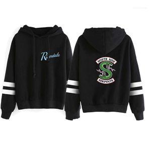 Hoodies mode Lettre vrac imprimé animal lambrissé Hommes hoodies hommes Vêtements décontractés Riverdale Marque Mens Designer