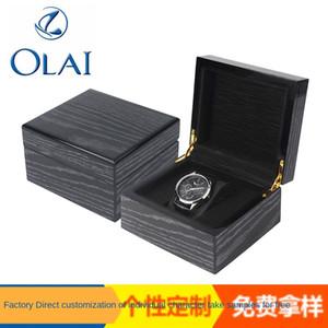 productos Ck3Zr privadas de reciente cotización cuadro Pat Wood gra madera 2.020 recién productos caja de reloj de la pintura de papel de papel de grano reloj privado localizado dentro de ELuCC