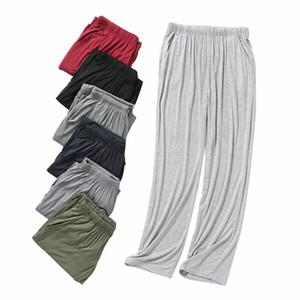 Para hombre caliente de la venta de pijama de otoño pantalones Modal desgaste del salón Inicio Pantalones para Hombre más el tamaño ocasional de Inicio suave caída Homewear Pantalones