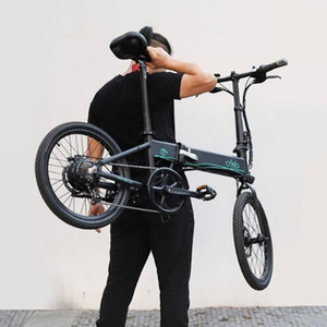 [EU Direct] Fiido d4s 10.4AH 36V 250W 20 Zoll Faltenfett Ebike Moped Fahrrad 25km / h Höchstgeschwindigkeit 80km Kilometer Elektrofahrrad