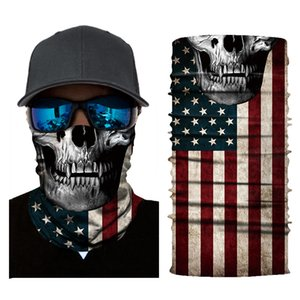Bicyle Cycling Scarves Mask bandanas Motorcycle Magic Scarf Windproof And Dustproof Sprots Balaclava Scarf For Men Women