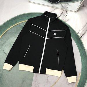 20fw Paris G Men Designer bombardeiro jaqueta corta-vento CardiganZipper Brasão camisola do inverno CELINS Mens Jacket Top Quality