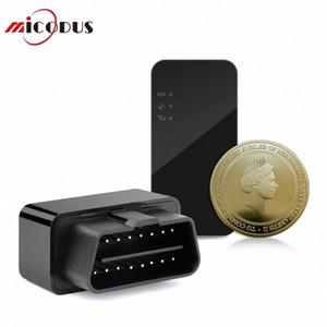 Mini Araç Tracker OBD Tak Çal GPS Tracker Taşınabilir Ücretsiz Şarj Kurulum Bayilerden Coğrafi çit Düşük Batarya Alarmı Ücretsiz Web t6gq #