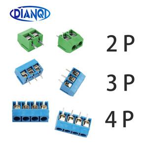 5 mm Pas 5/10 Pcs / lot KF301-5.0-2P KF301-3P KF301-4P Pas 5.0mm Épingle 2P 3P 4P vis Bornier PCB Connecteur
