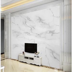 Fonds d'écran personnalisés 3d peintures murales photo papier peint papiers peints en marbre gris