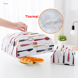 Kitchen Gadgets Dining Table Covers Thermal Food Dust Cover Keeping Warm Tools Cooking Tools Food Lid Folding Insulated Food Tent DBC BH4112