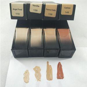2020 Marca maquiagem 4 colores base de maquillaje fundación rotulador corrector de cobertura intermedia base líquida envío libre