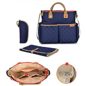 New Diaper Bag for Mommy Maternal Travel Shoulder Corssybody Nursing Nappy Bag Baby Storller to Care Organizer Mother Changing