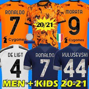 RONALDO DYBALA 20 21 juventus maillot de football DE LIGT maillot de juventus MORATA KULUSEVSKI ARTHUR  juventus soccer jersey 2020 2021 BERNARDESCHI football shirt