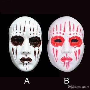 Maschera Maschere Horror Cosplay Slipknot Halloween Party fronte pieno PVC Maschera Movie Theme Slipknot Joey spaventoso fantasma Mardi Gras Costume