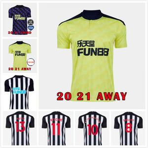 20 21 NUFC Home Kit de fútbol jerseys Shelvey 2020 2021 camiseta de fútbol Joelinton ALMIRON RITCHIE GAYLE Jersey