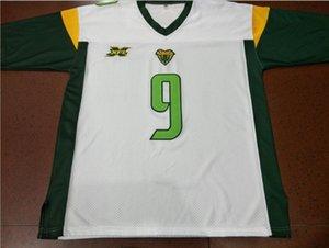 Donna-Uomo della gioventù XFL Donteea Dye Vipers 11 Aaron Murray 9 dimensioni Quinton Fiori Jersey s-5XL o personalizzato qualsiasi nome o numero di maglia