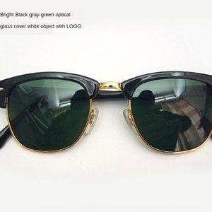 RB3016 sol de vidro prego sobrancelha clássico óculos de sol TR90 óculos de sol moda unissex