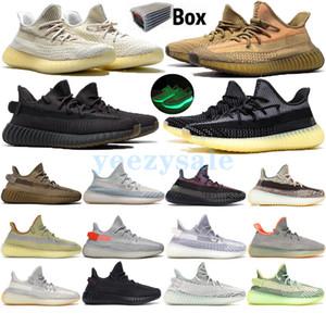 Sply Mejor Kanye West CP9654 Zebra Cream White Blue Tint Beluga 2.0 Butter Sesame Splv Zapatos para correr Zapatillas de deporte de diseñador con caja 5-13