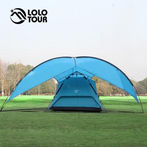 Grande 5-8 Pessoas Toldo Tent Outdoor Camping Caminhadas piquenique da família Evento Barraca Gazebo Carpas Pergola Partido Roof Top Tarp Tenda