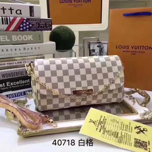 # 6955 5A EVA Sacs à bandoulière de luxe L Plaid Femmes Wallet Défilés de mode exotique Sac à main en cuir femme du soir de la chaîne V Portefeuilles Porte-Monnaie